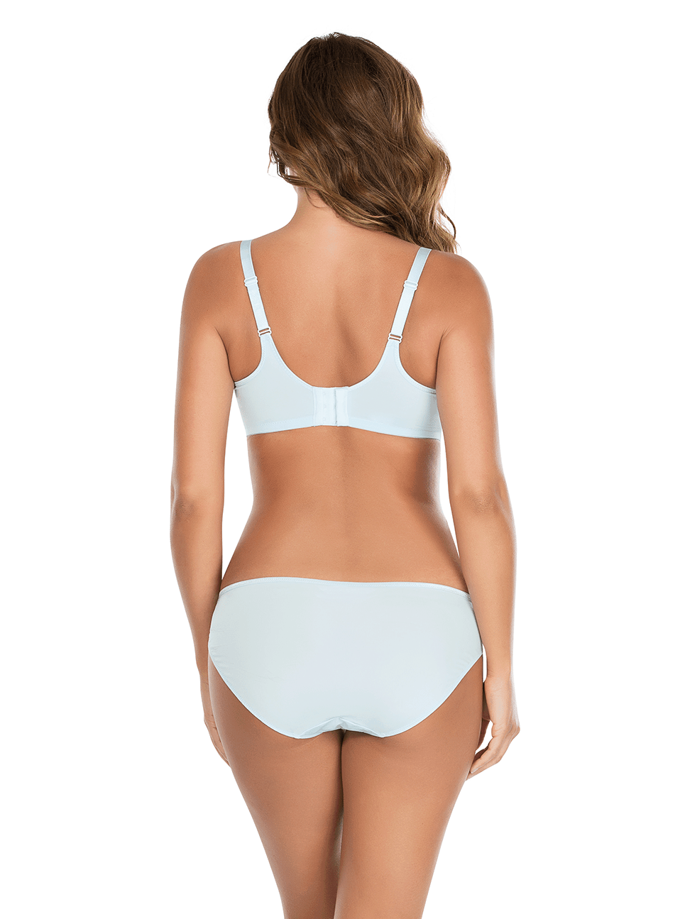 Enora MinimizerBraP5272 BikiniP5273 WhisperBlue Back - Enora Minimizer Bra - Whisper Blue - P5272