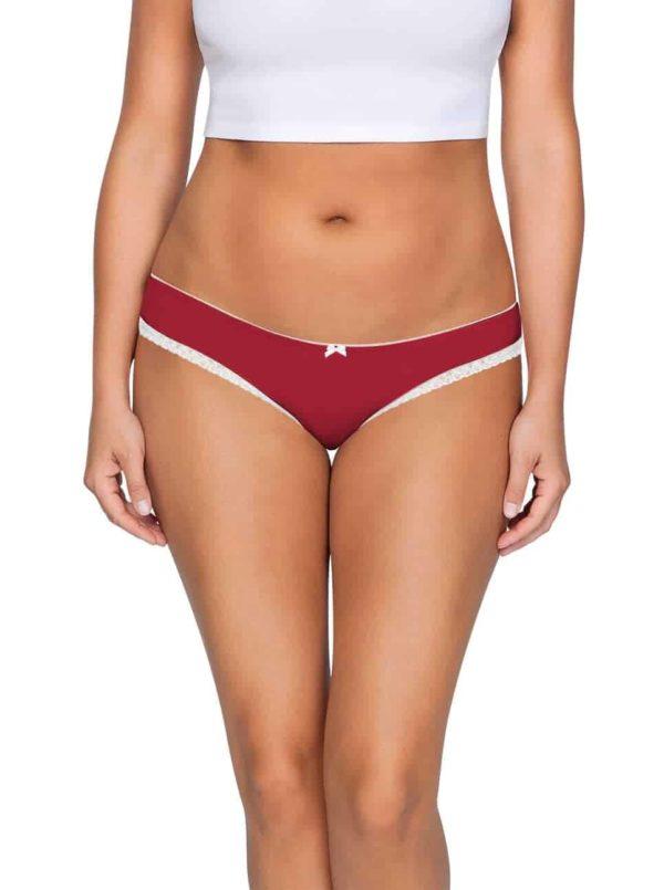 ParfaitPantyBikini PP301 D TangoRedFront main 600x805 - So Lovely Bikini Tango Red PP301
