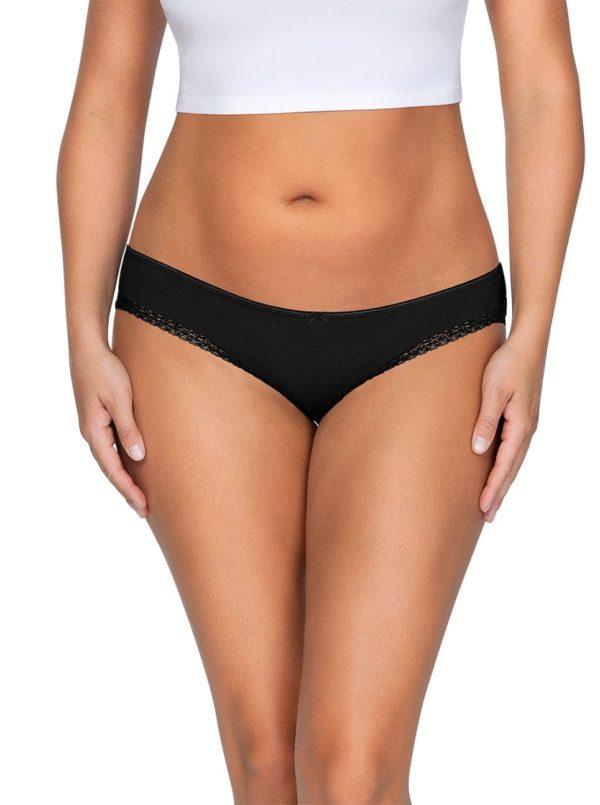 ParfaitPantyBikini PP301 A BlackFront main 600x805 - So Lovely Bikini Black PP301