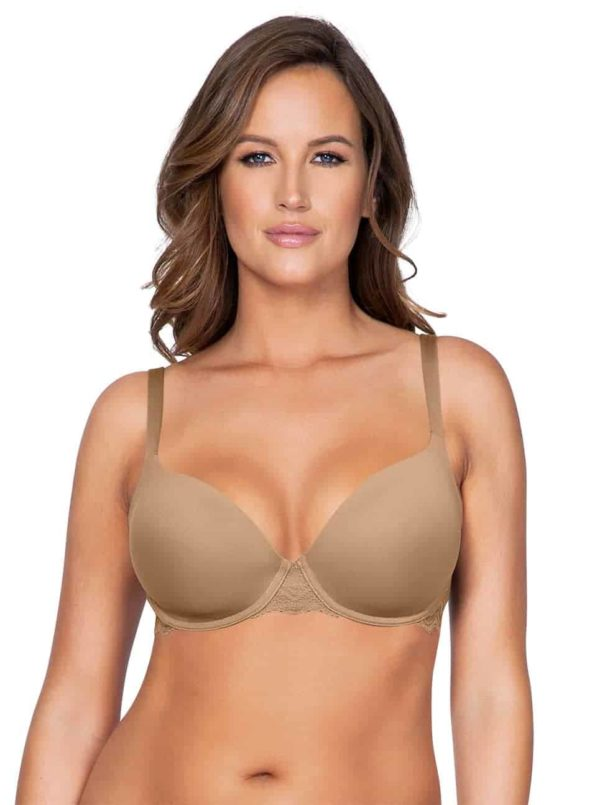 Lydie P5441ContourPadded NudeFront copy 2 600x805 - Lydie Contour Padded Bra – European Nude – P5441