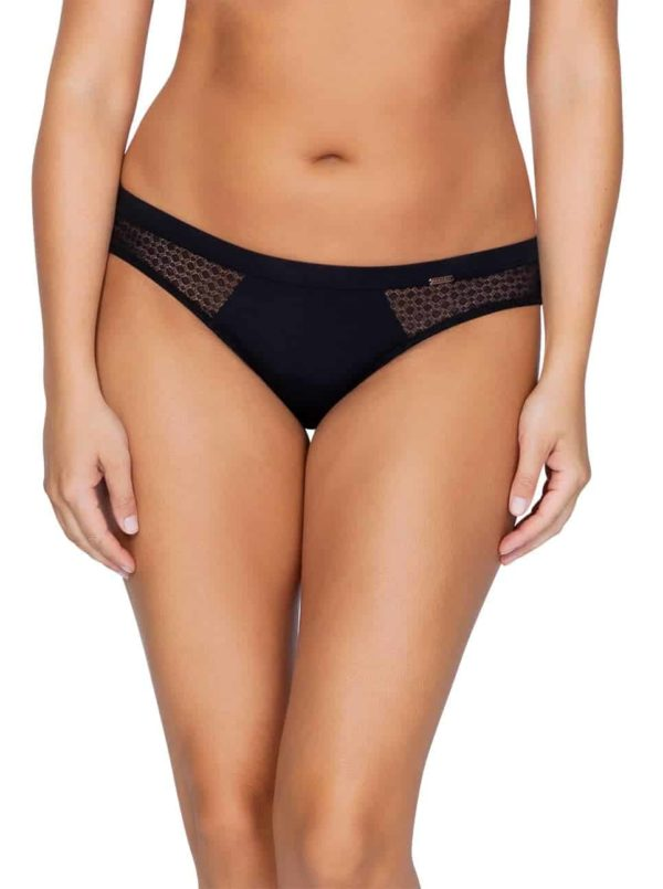 Wendy P5413 BikiniBlackFront copy 600x805 - Wendy Bikini – Black – P5413