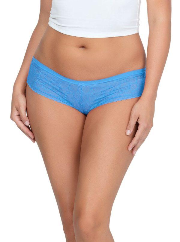 ParfaitPanty SoGlam HIPSTERPP502 MediterraneanBlue FRONT 1 600x805 - Parfait Panty So Glam Hipster - Mediterranean Blue - PP502