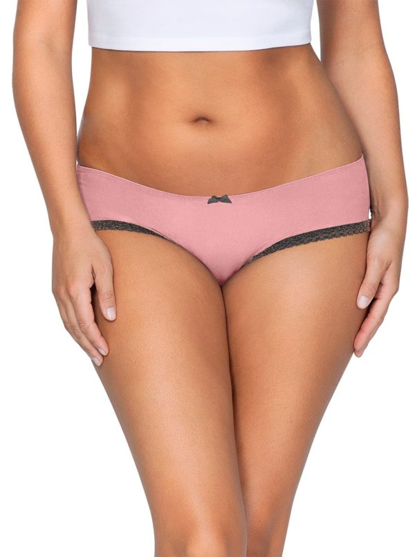 ParfaitPanty Solovely Hipster PP501 D PinkFront close 600x805 - So Lovely Hipster Quartz Pink PP501