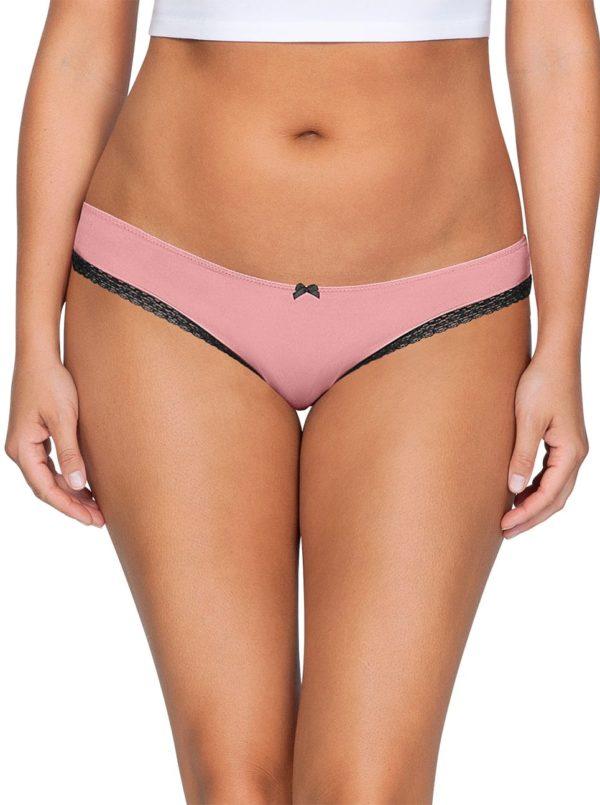 ParfaitPanty Solovely Bikini PP301 D PinkFront 600x805 - So Lovely Bikini Quartz Pink PP301