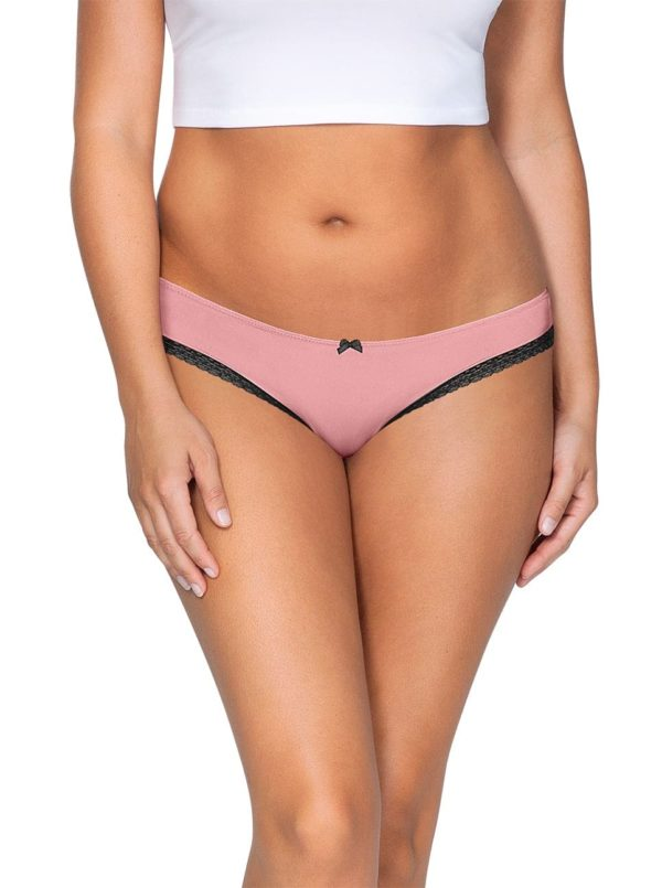 ParfaitPanty Solovely Thong PP401 D PinkFront 600x805 - So Lovely Thong Quartz Pink PP401