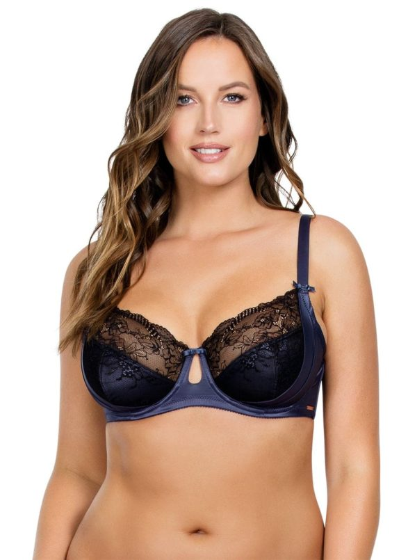 PARFAIT Mariela UnlinedWireBraP5582 Nightshadow Front 600x805 - Mariela Unlined Wire Bra - Nightshadow - P5582