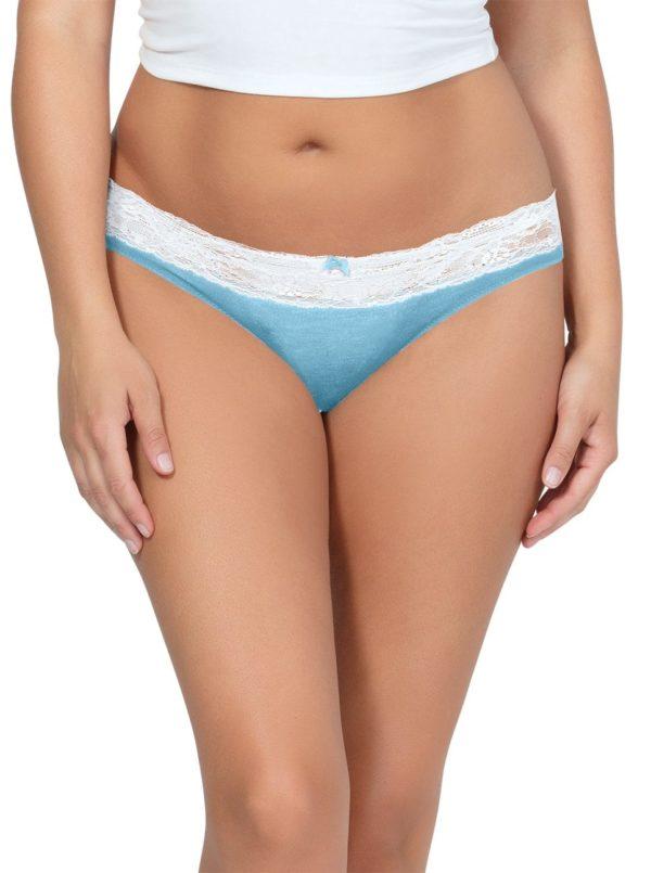 PARFAIT ParfaitPanty SoEssential BikiniPP303 SkyBlueIvory Front 600x805 - Parfait Panty So Essential Bikini- Skyblue - PP303