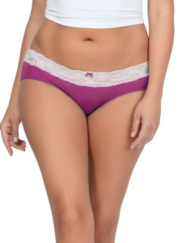 PARFAIT ParfaitPanty SoEssential HipsterPP503 WildPinkIvory Front 600x805 - Parfait Panty So Essential Hipster - Wild Pink- PP503