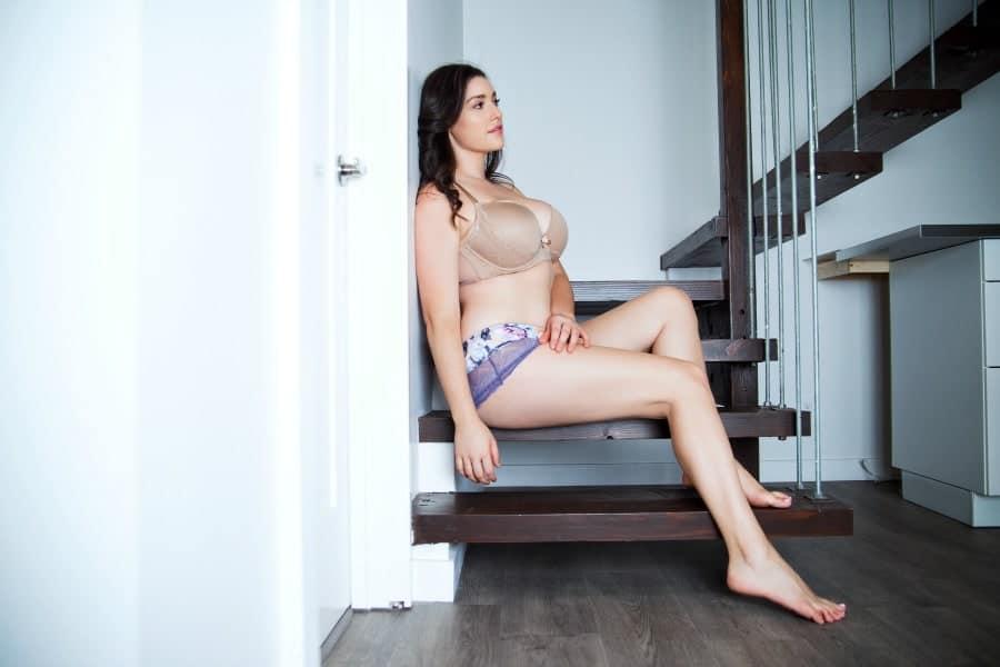 form fitting lingerie