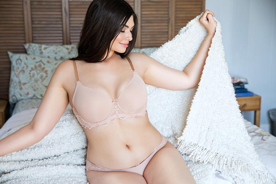 round breasts